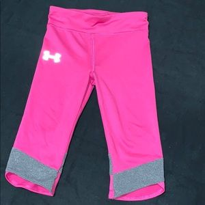 Toddler Under Armor workout tights